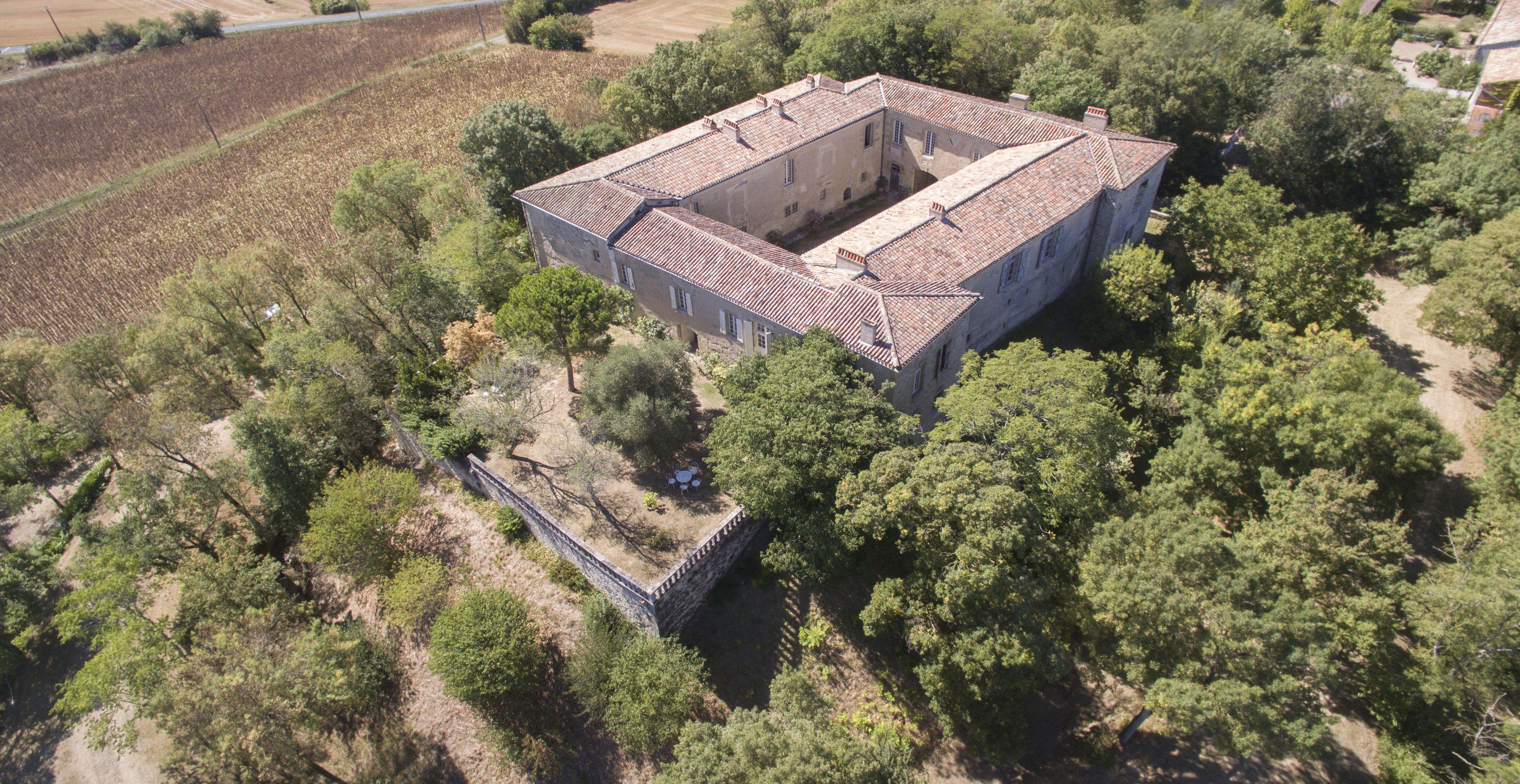 Château d'Aguts dans le Tarn