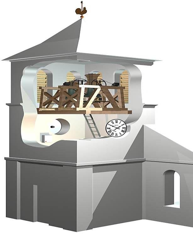 Plan du clocher