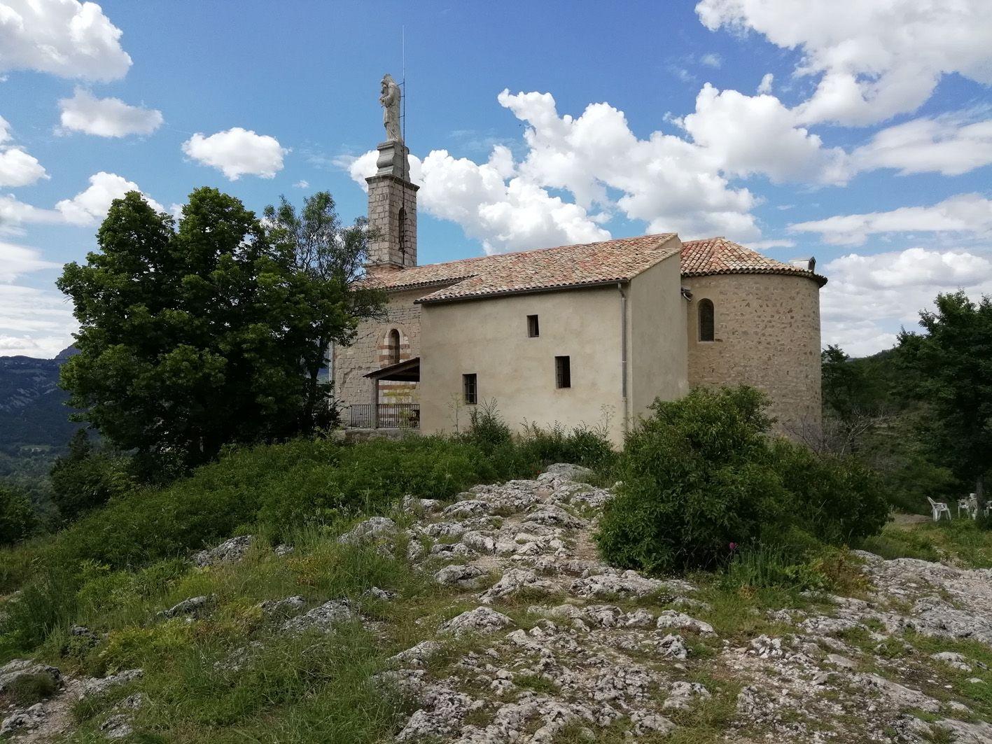Chapelle Notre-Dame du Roc à Castellane