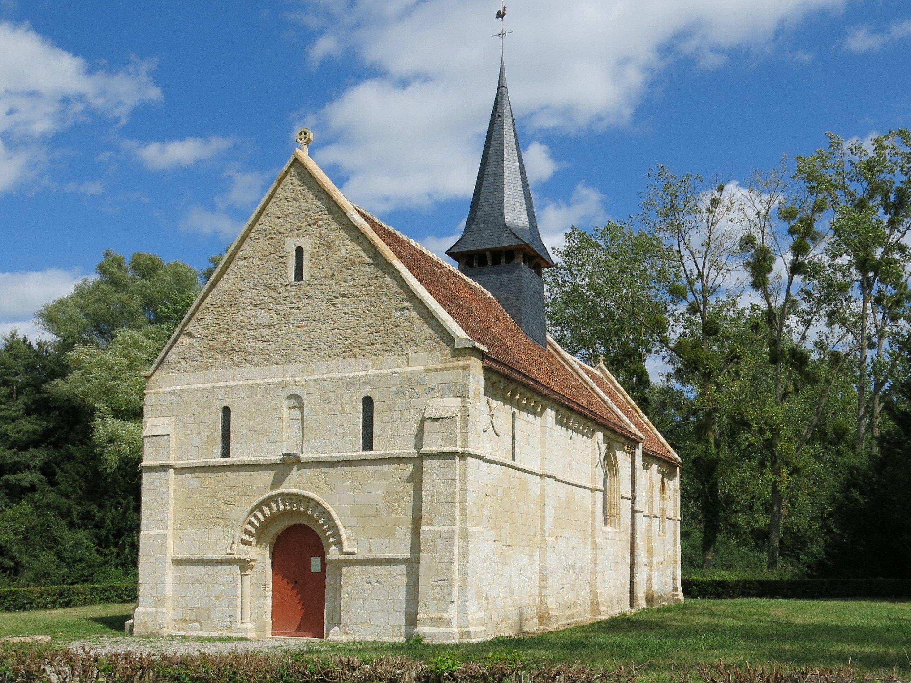 Chapelle Sainte-Marie aux Anglais à Mézidon-Vallée d'Auge - Calvados