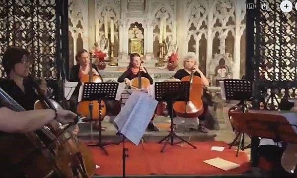 concert au sein de la chapelle