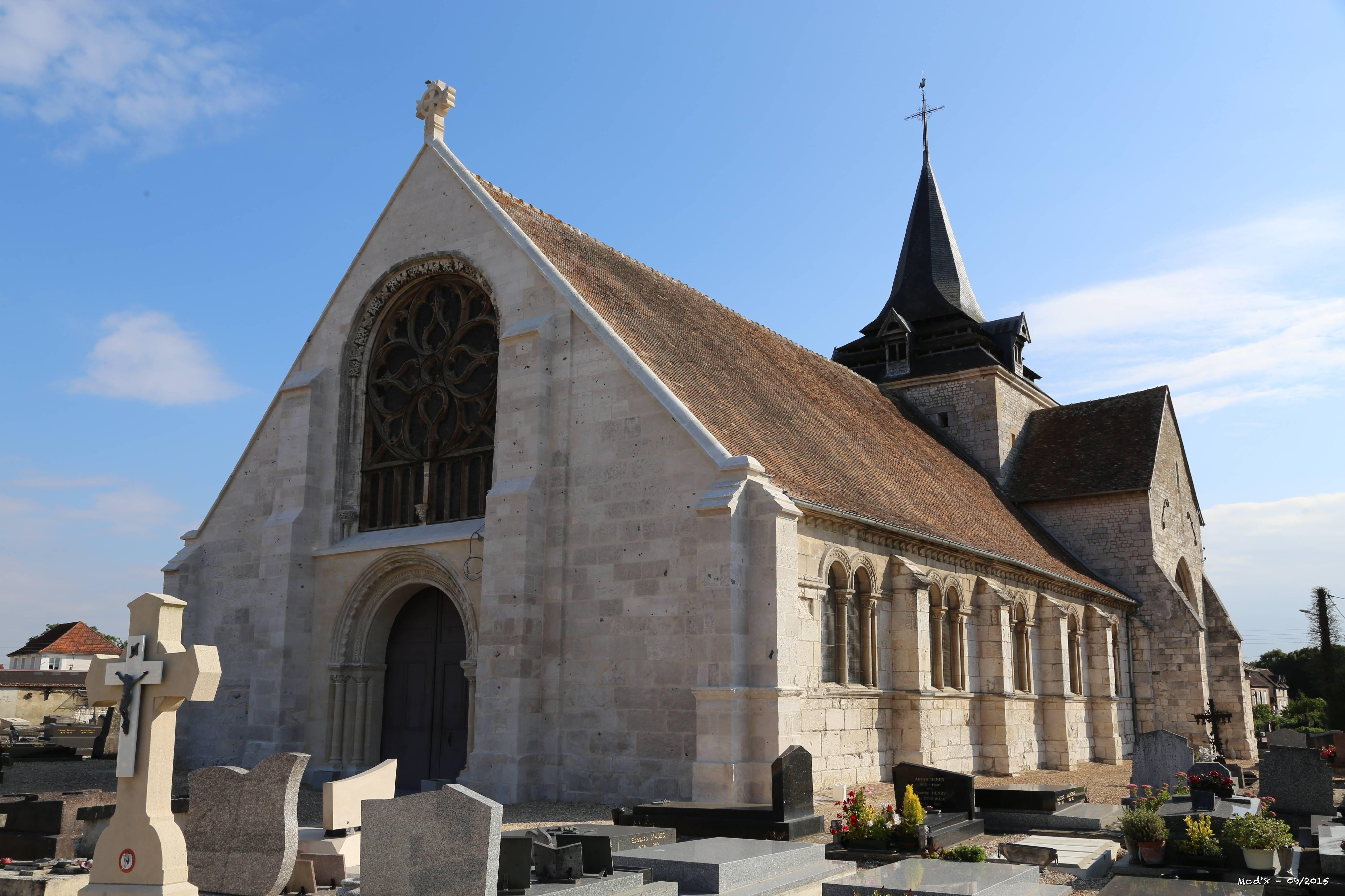 L'église Notre-Dame du Vaudreuil