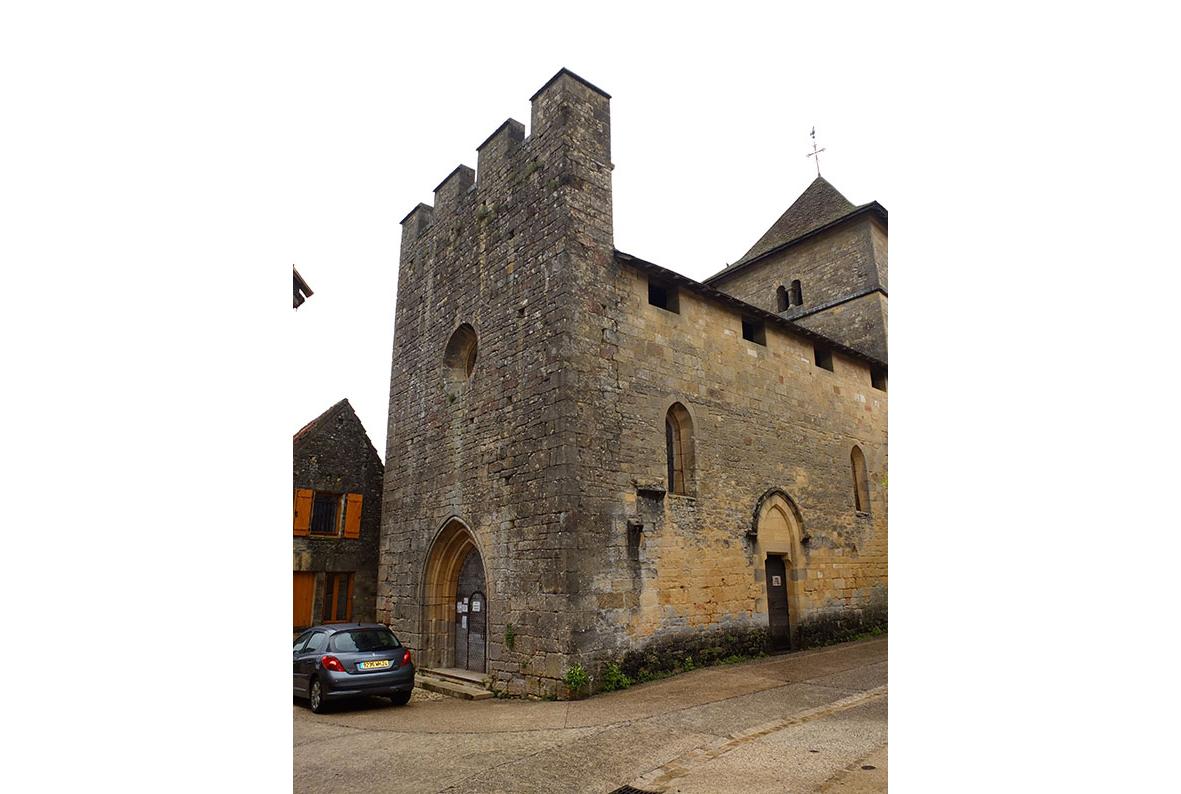 Eglise Saint Pierre-ès-Liens à Marquay