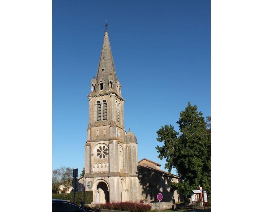 Eglise Saint-Laurent à Téthieu