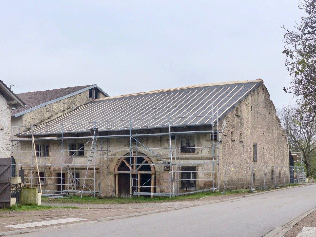 Maison paysanne de 1605 à Bult dans les Vosges