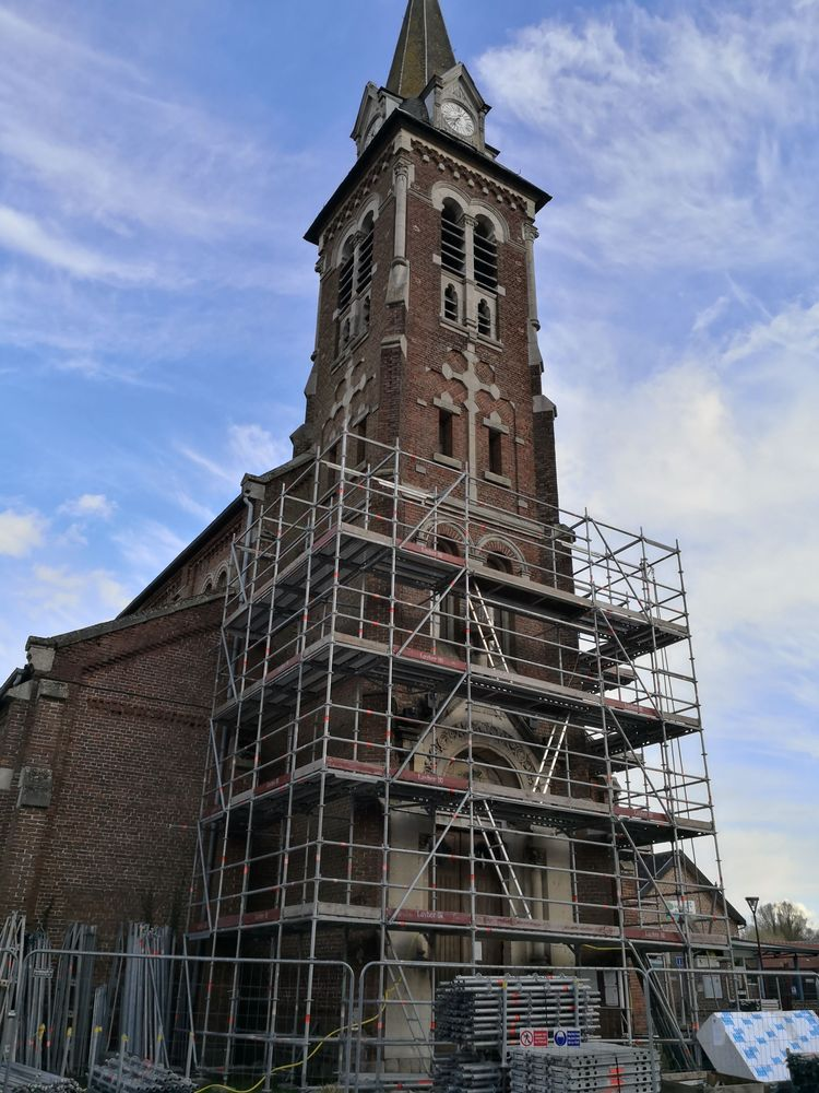 l'église saint-côme et saint-damien de sepmeries
