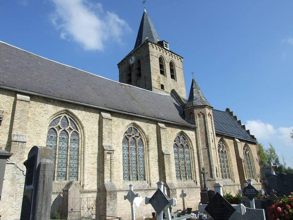 eglise saint martin de steene avant travaux