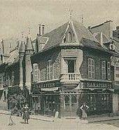 La maison à la fin du XIXème
