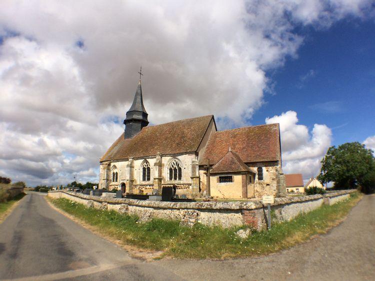 L'église de Dame-Marie (Sainte-Marie-d'Attez)