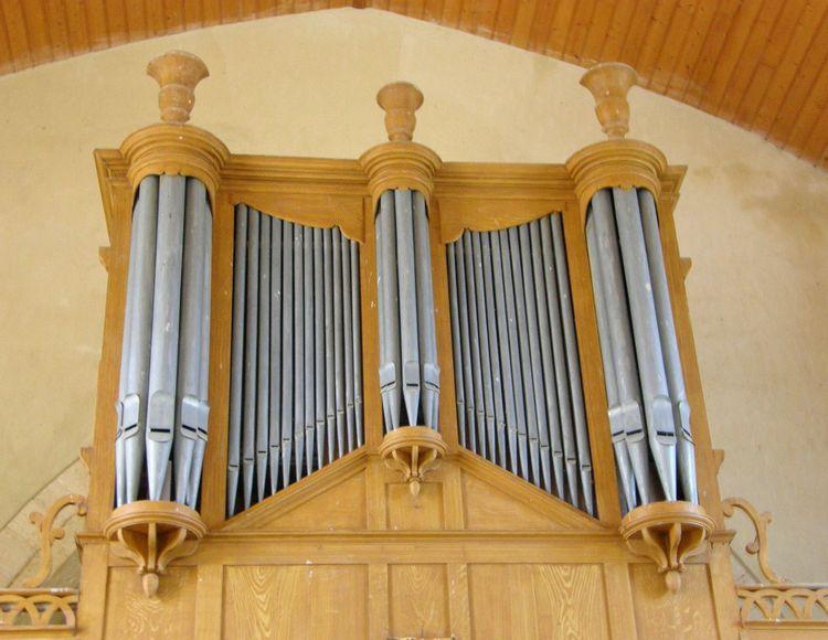 L'orgue de l'église de la Ronde-Haye