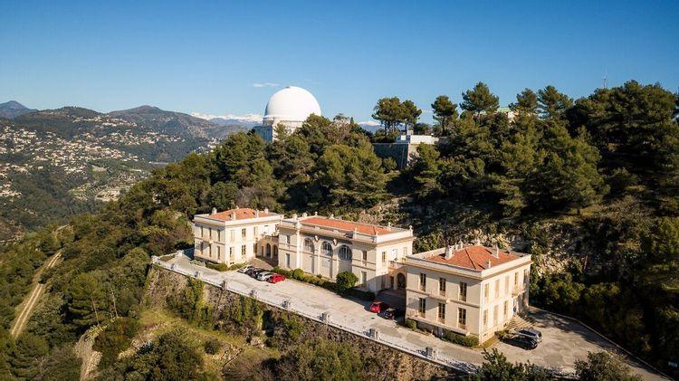 Pavillon Henri Chrétien de l'Observatoire de Nice Côte-d'Azur à Nice