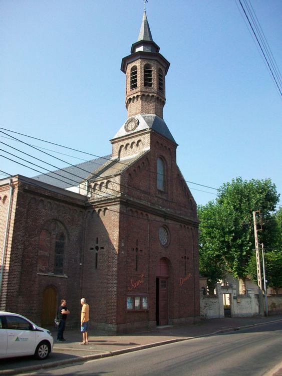 vue de l'église Saint Druon