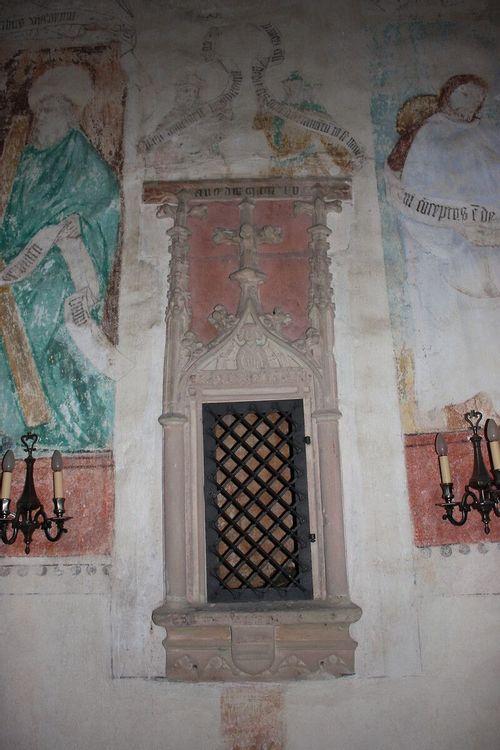 Peintures intérieures Chapelle Burnkirch