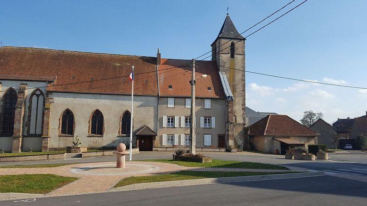 Eglise de Saint-Jean-de-Bassel en Moselle