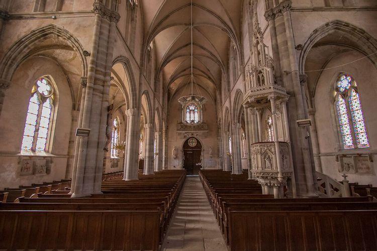 Eglise Saint-Amé à Raon-aux-Boisdans les Vosges