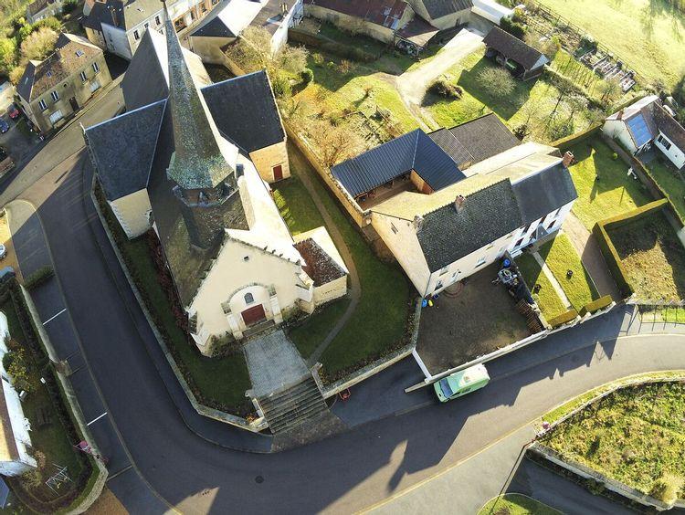 L'église Saint-Pierre de Coulimer