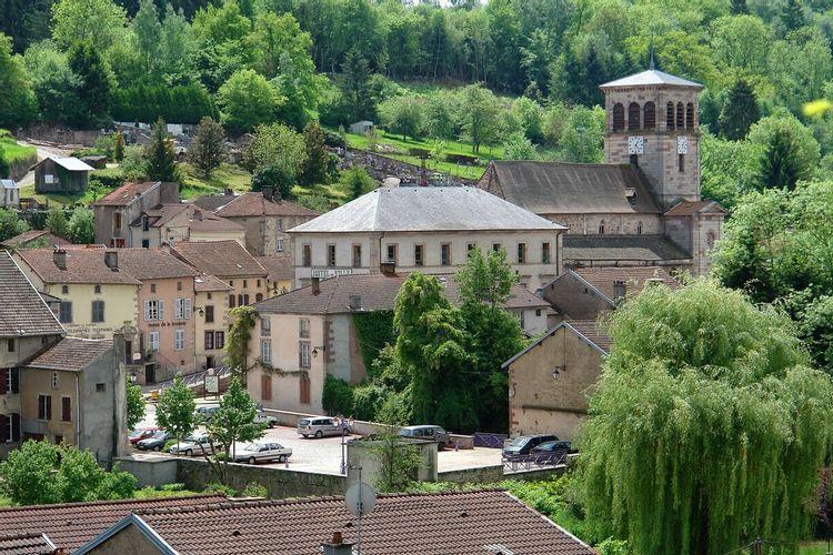 Eglise Saint Mansuy à Fontenoy-le-Château dans les Vosges