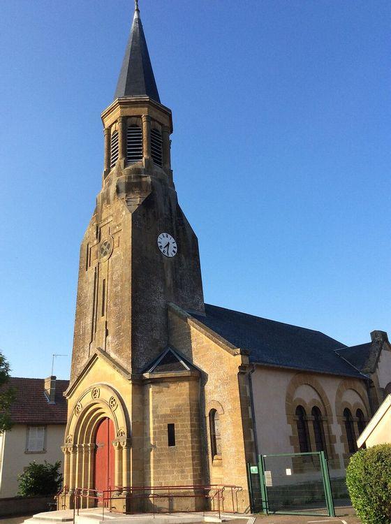 Eglise Saint Quentin de Foameix dans la Meuse
