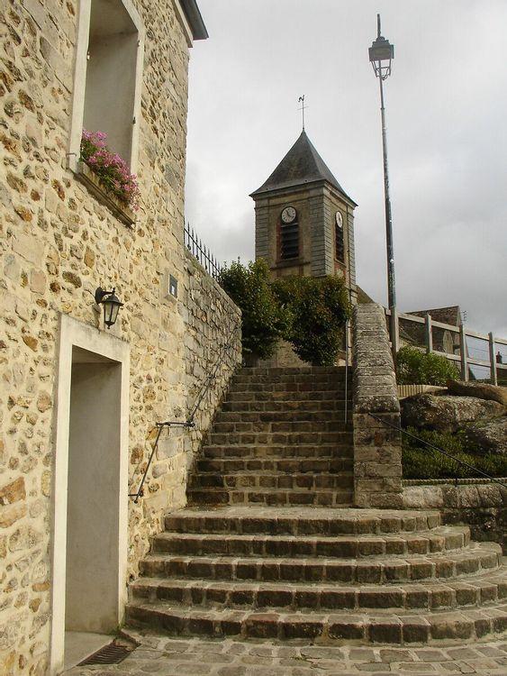 Clocher de l'église Saint-Paul de Chailly-en-Bière