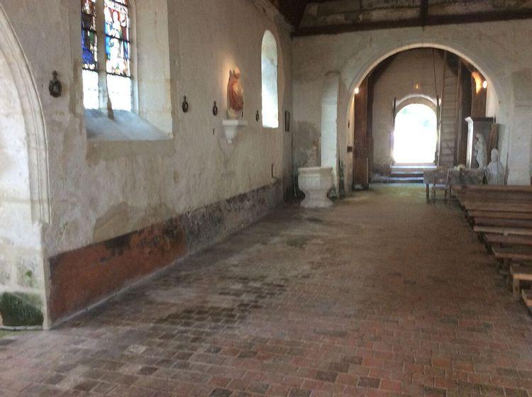 L'église de Saint-Denis-sur-Huisne