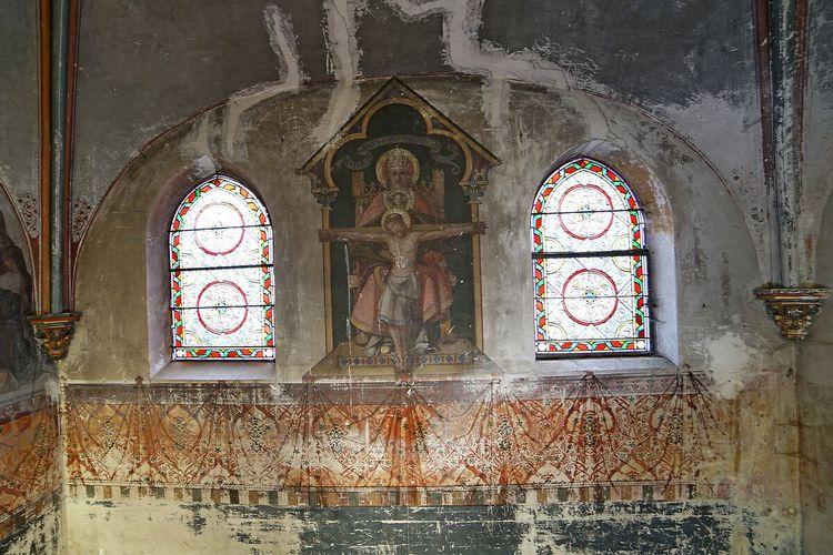 Christ - petite salle des catéchismes à Gouvernes