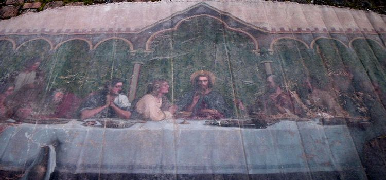 La cène- petite salle des catéchismes à Gouvernes