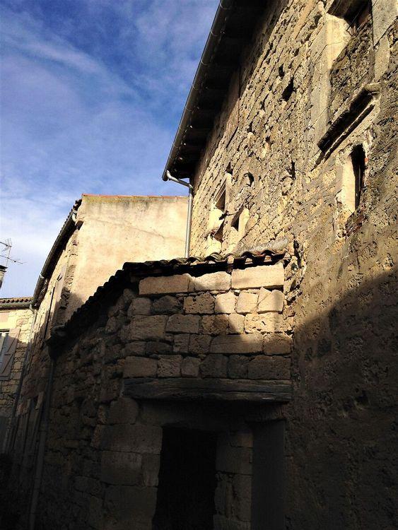 Maison médiévale vue rue
