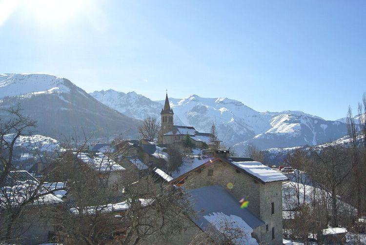 Eglise Saint Christophe à Mizoen en Isère