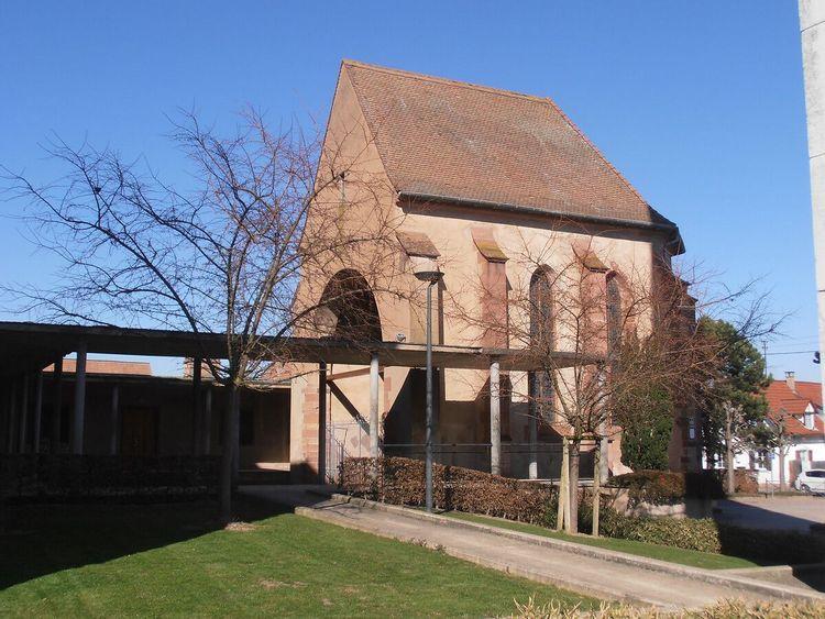 choeur de l'ancienne église saint-michel