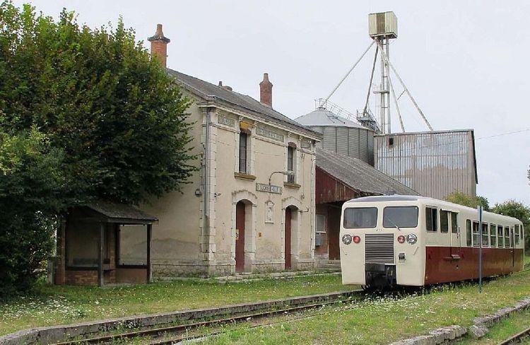 Gare de Luçay-le-Mâle dans l'Indre