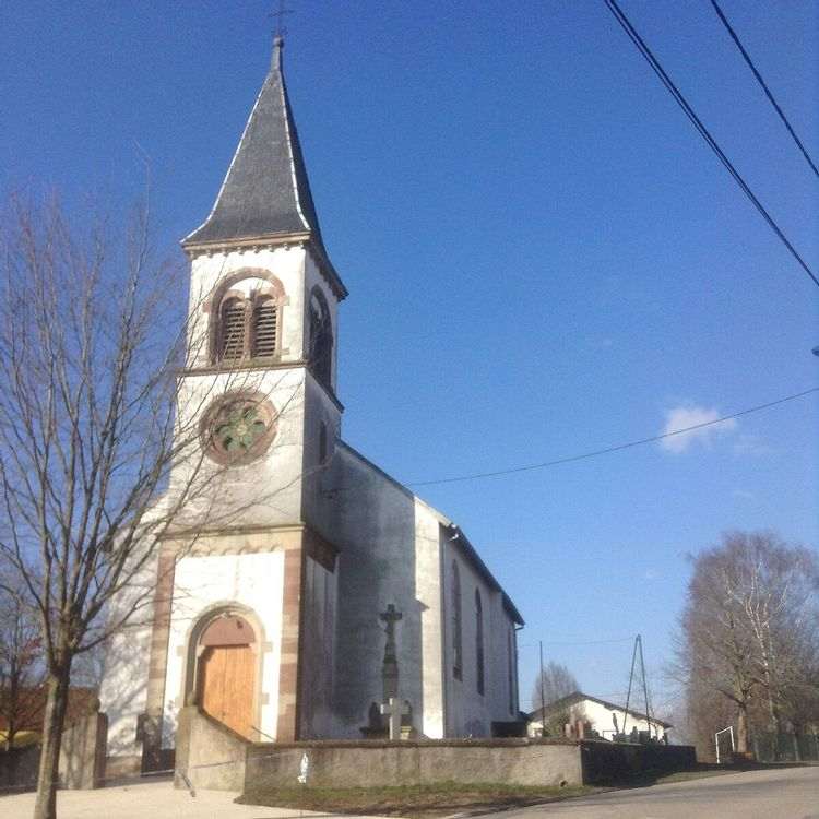 Eglise Saint Michel de Kirviller en Moselle