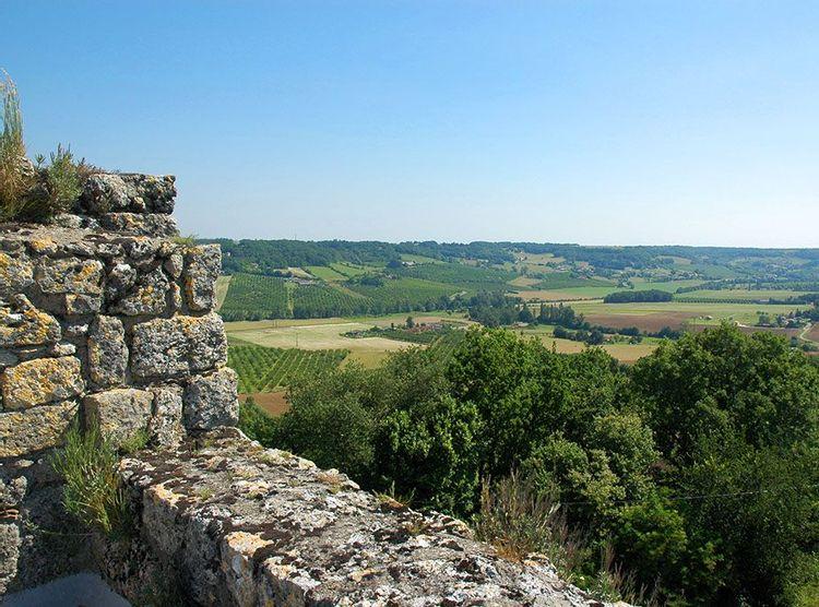 Vue panoramique depuis le haut de la tour