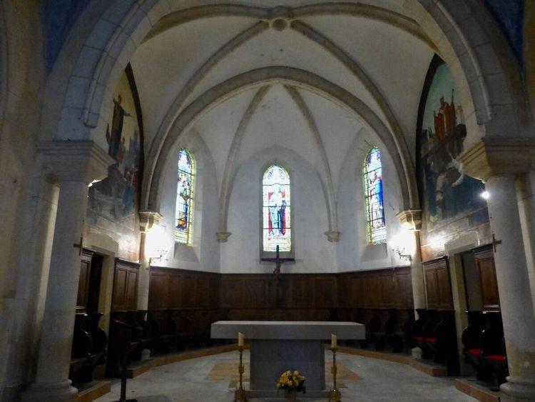 Eglise Saint-Donat de Sainte-Croix dans l'Ain