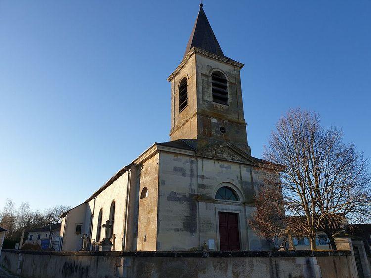 Eglise de Naives-en-Blois en Meuse