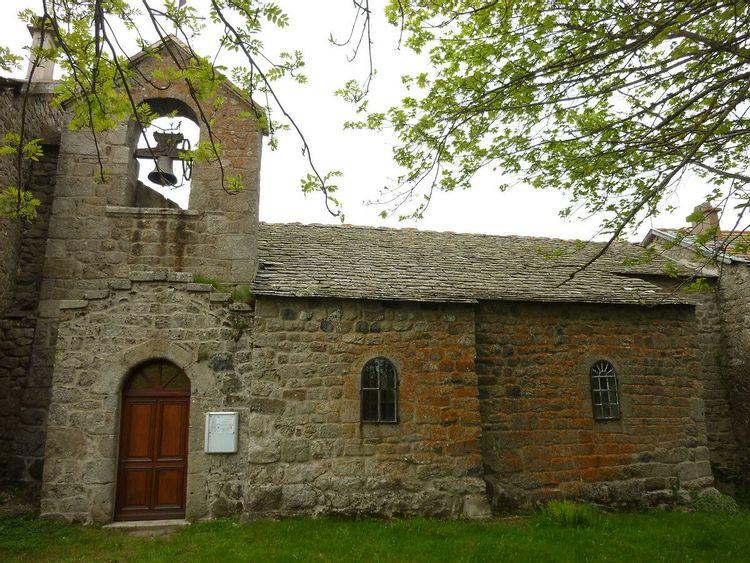 Eglise de Saint-Romain à Mars en Ardèche