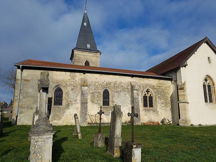 Eglise Saint-Brice de Villotte-devant-Louppy en Meuse