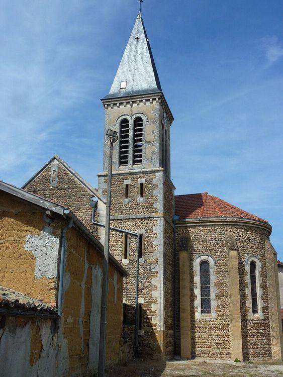 Eglise Saint Pierre à Assieu