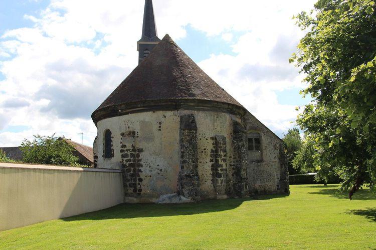 Eglise Sainte Anne de la Saucelleen Eure-et-Loir