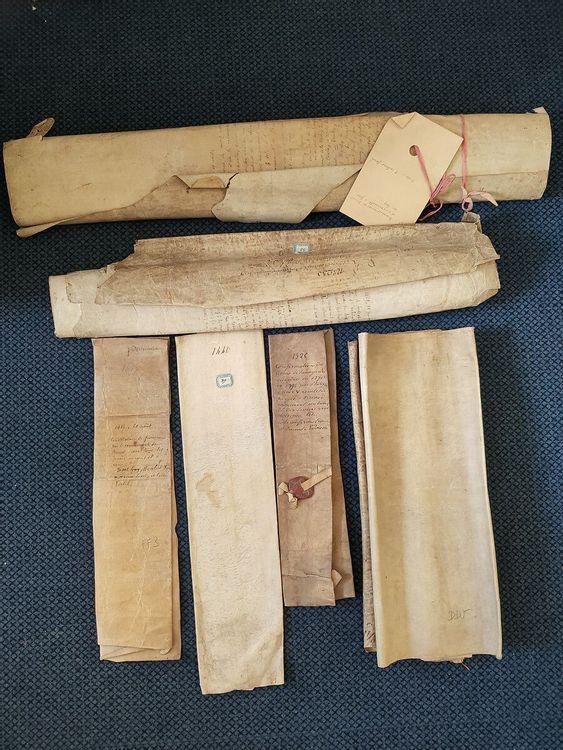 Fonds d'archives ancien de Brénod