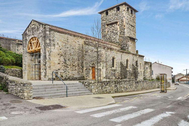 eglise saint-etienne-de-mélas au teil