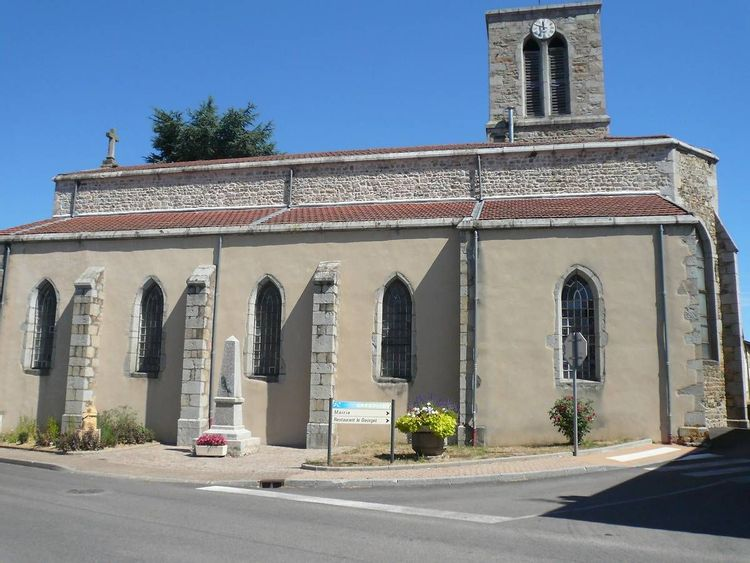 Eglise de Grézolles dans la Loire