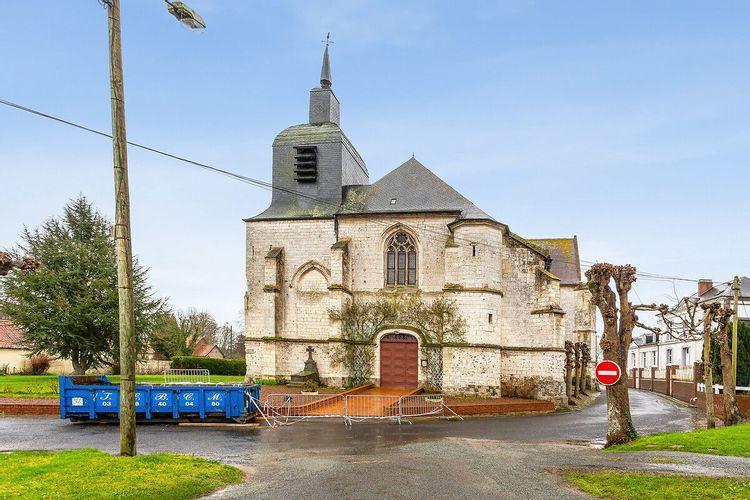 Choeur de l'église de Dompierre-sur-Authie