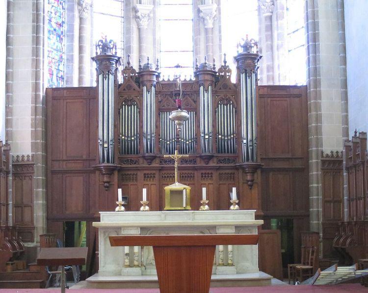Orgue de l'église de Montaigu