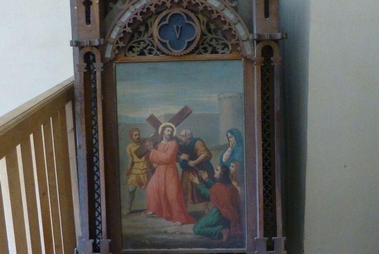 val de louyre et caudeau - chemin de croix de ste alvere avant restauration (3)chemin de croix de sainte-alvère, avant restauration