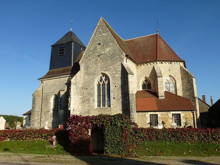 L'église de Saint-Parres à Praslin