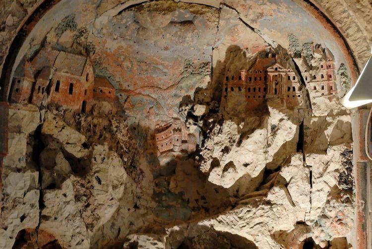 Grotte de coquillages à Coulommiers