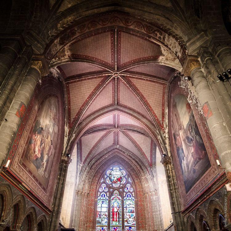 Eglise Saint-Laurent de Parthenay