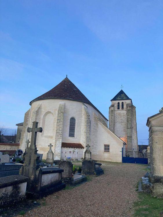 Le Choeur de l'église Sainte-Fare à Achères-la-Forêt
