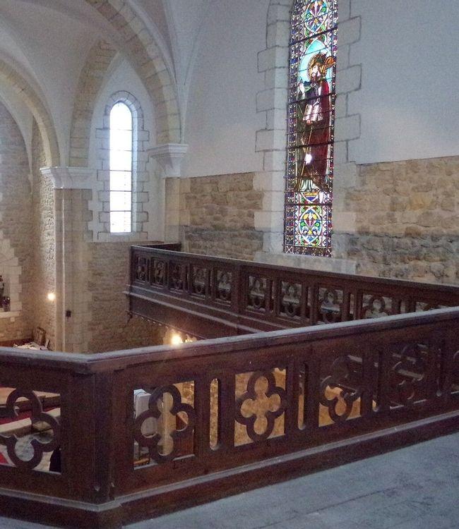 Hauteur chapelle
