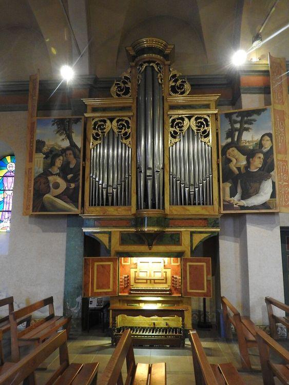 Orgue de l'église Saint-Jacques-le-Majeur à Mougins
